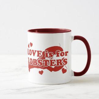 Mug L'amour est pour des homards