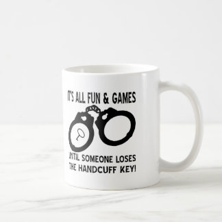 Mug L'amusement et les jeux jusqu'à quelqu'un perd la