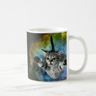Mug Lancement de chaton d'univers de chat de galaxie