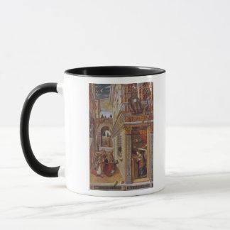 Mug L'annonce avec St Emidius, 1486
