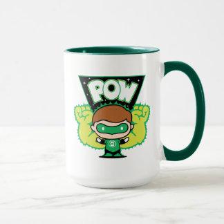Mug Lanterne verte de Chibi formant les poings géants