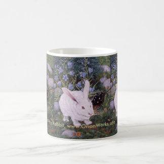 Mug Lapin blanc, lapin blanc, lapin blanc, blanc…