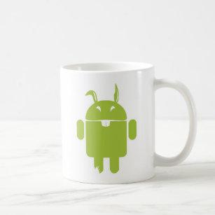 Mug Lapin de Pâques androïde