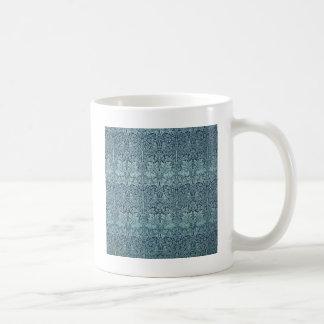 Mug Lapin et plantes bleus de William Morris