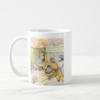 Mug Lapin et volaille adorables