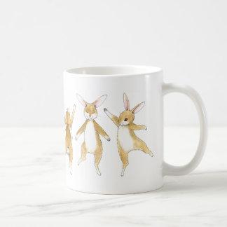 Mug Lapins de houblon de danse