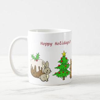 Mug Lapins de vacances