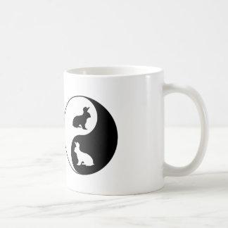 Mug Lapins de Yin Yang