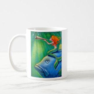 Mug L'appel Yur possèdent la sirène de Coquillage !