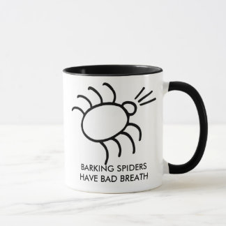 Mug l'araignée d'écorcement, ARAIGNÉES d'ÉCORCEMENT