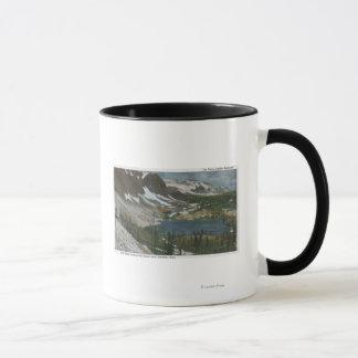 Mug Laramie, WY - lac Marie et chaîne de Milou sur