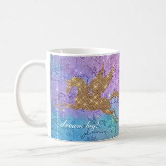 Mug L'arc-en-ciel d'étincelle de scintillement de