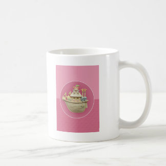 Mug L'arche de Noé rose