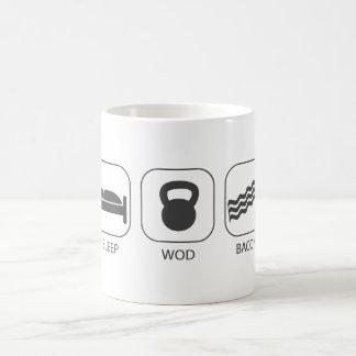 Mug Lard du sommeil WOD - séance d'entraînement et