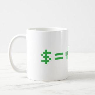 Mug L'argent est la racine carrée du mal