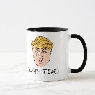 Mug Larmes de Donald Trump - larmes d'atout dans une