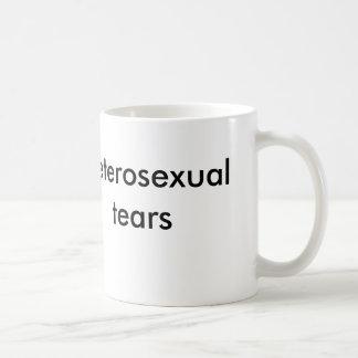 Mug larmes hétérosexuelles