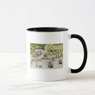 Mug L'arrivée de l'anglais en Virginie