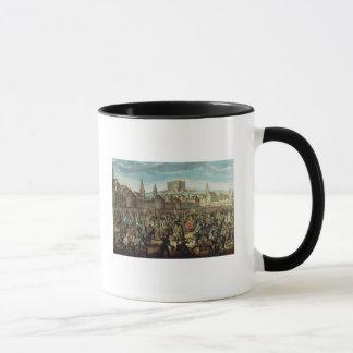 Mug L'arrivée de l'impératrice Maria Theresa de
