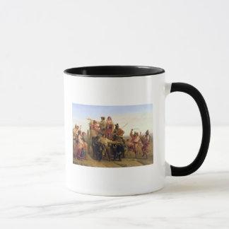 Mug L'arrivée des moissonneuses dans le Pontine