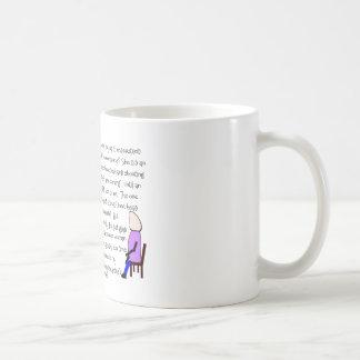 """Mug L'art d'histoire """"les Anglais viennent""""--Hilare"""
