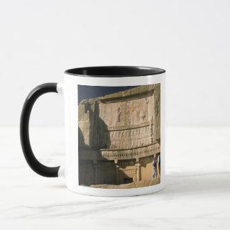 Mug L'Asie, Iran, Persepolis.Tomb de Darius le grand