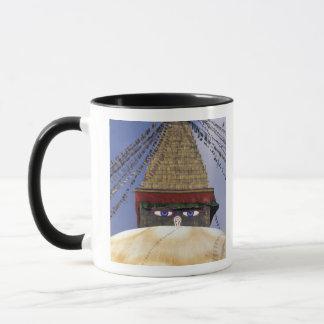 Mug L'Asie, Népal, Katmandou. Bouddhanath Stupa. 2