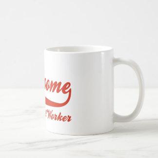 Mug L'assistant social le plus impressionnant du monde