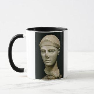 Mug L'Athéna d'Aegina, portant un casque, tête d'a