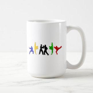 Mug L'athlète des hommes d'arts martiaux de MIXED