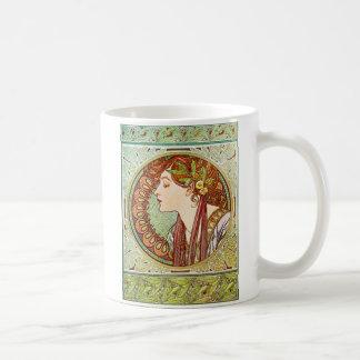 Mug Laurier - Alphonse Mucha