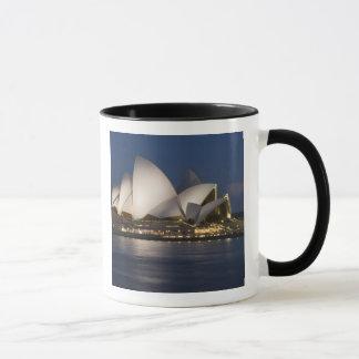 Mug L'Australie, Sydney. Théatre de l'opéra la nuit