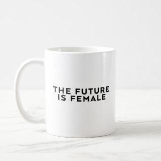 Mug L'avenir est femelle