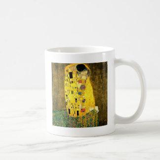 Mug Le baiser par art Nouveau de Gustav Klimt