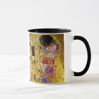 Mug Le baiser par Gustav Klimt, art vintage Nouveau