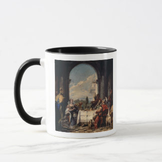 Mug Le banquet d'Anthony et de Cléopâtre, c.1744