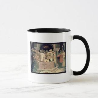 Mug Le baptême de duc grand Vladimir, 1885-96