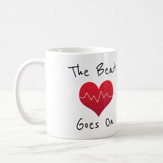 Mug Le battement continue