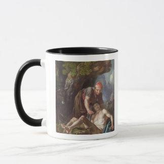 Mug Le bon Samaritain, c.1751-52 (huile sur la toile)