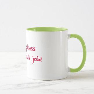 Mug Le bonheur est un travail intérieur !