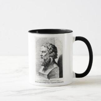 Mug Le buste de Platon a gravé par Lucas Emil