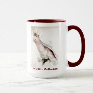 Mug Le cacatoès de Leadbeater d'oiseau d'Edward Lear