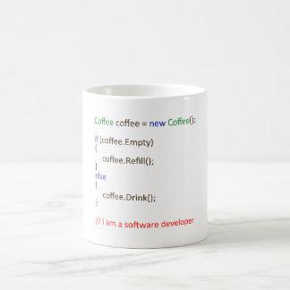 Mug Le café de promoteur