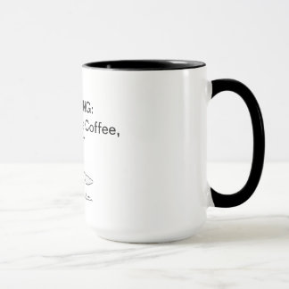 Mug Le café du pilote de contact, CFIT (acronyme)