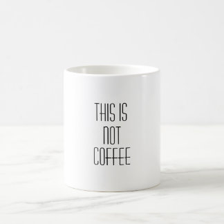Mug le café est méchant