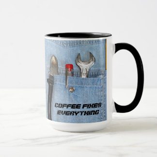 Mug Le café fixe tout