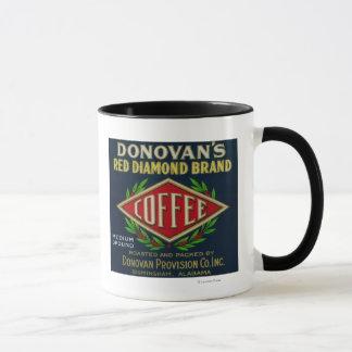 Mug Le café LabelBirmingham, AL de Donovan