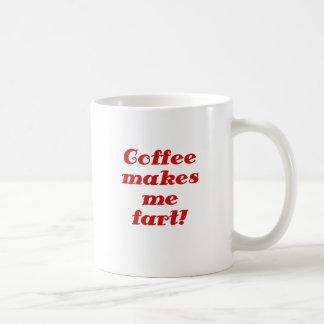 Mug Le café m'incite à péter