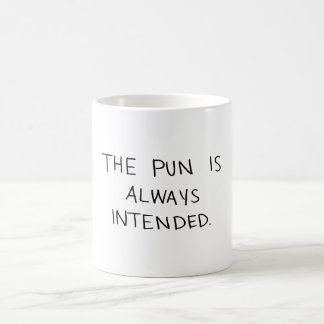 Mug Le calembour est toujours prévu