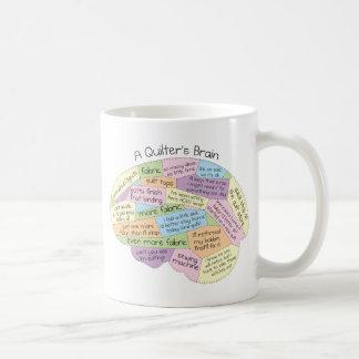 Mug Le cerveau de Quilter
